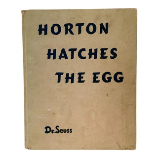1940's Horton Hatches The Egg by Dr. Seuss