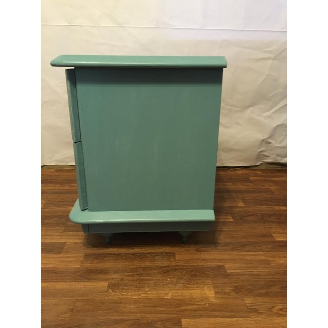 Lane Teal Nightstand - Image 4 of 5