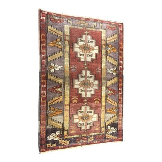 "Bellwether Rugs Vintage Turkish Oushak Rug - 2'10"" X 4'2"""