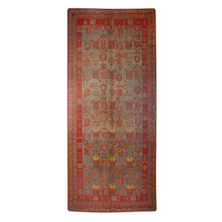 "Early 20th Century Central Asian Khotan Carpet - 6'3"" x 12'2"""