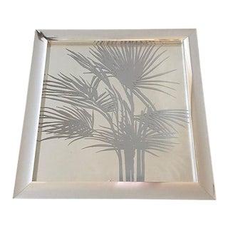 1977 Palms Mirror Framed