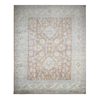 "Hand Knotted Fine Oushak Rug by Aara Rugs Inc. - 12'8"" X 15'5"""