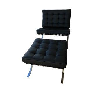 Design Within Reach Barcelona Chair & Stool