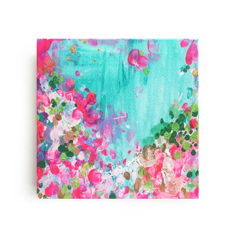 """""""May Garden"""" Original Abstract Painting - Image 2 of 2"""