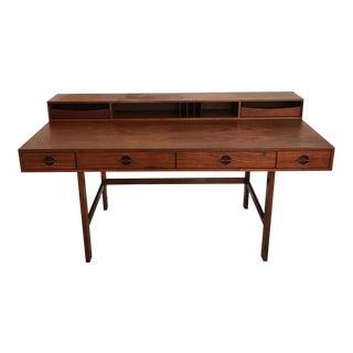 Peter Lovig Nielsen Rosewood Folding Dansk Danish Desk Circa 1965