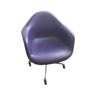 Eames Herman Miller Purple Armshell Chair