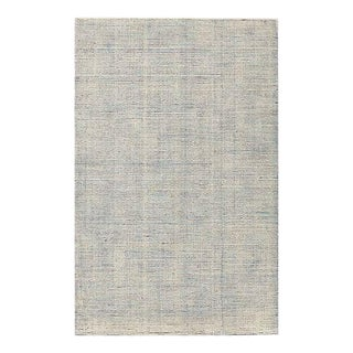 New West Elm 'Parallels' Rug in Lagoon - 8' X 10'
