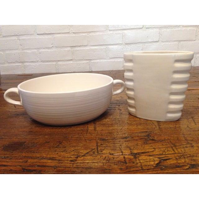 Image of Vintage Catalina Island Vase & Franciscan Bowl