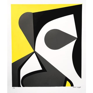 "David Lloyd ""Abstraction #1"" Silkscreen"