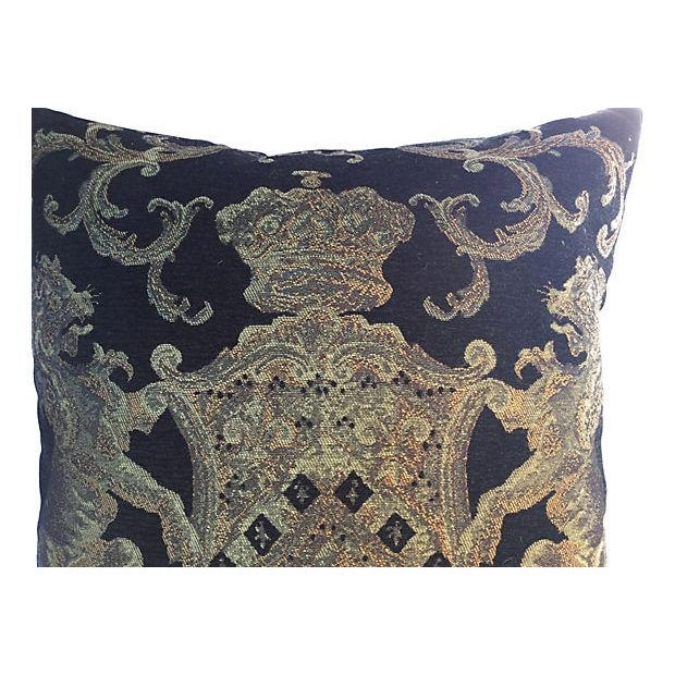 English Coat of Arms Pillow - Image 3 of 5