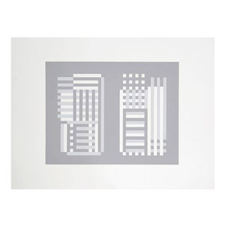 "Josef Albers ""Portfolio 2, Folder 2, Image 1"" Print"