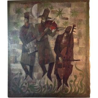 Oil Painting on Canvas - Jerzy Duda Gracz 1967