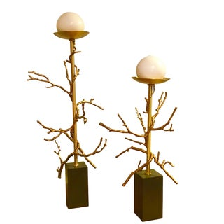 Global Views Twig Candle Holders - A Pair