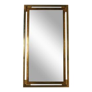 Italian Brass Mirror