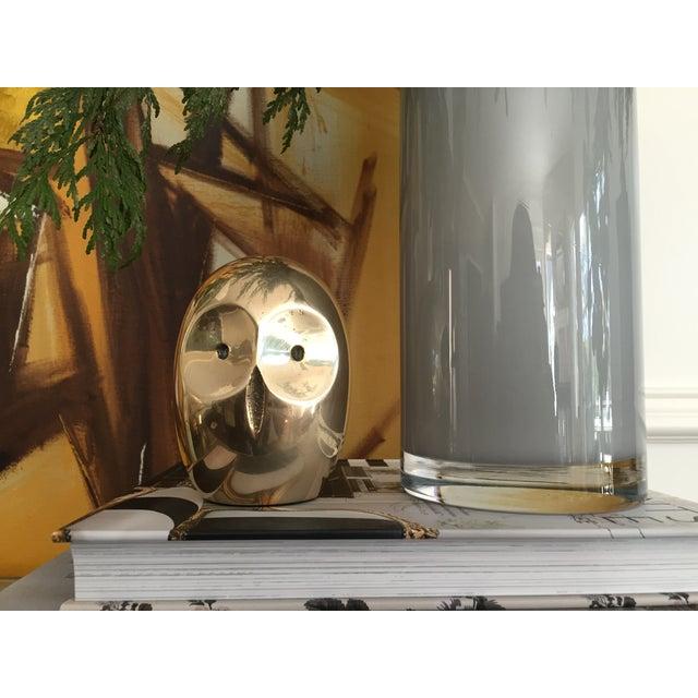 Vintage Modern Brass Owl Figure - Image 6 of 6