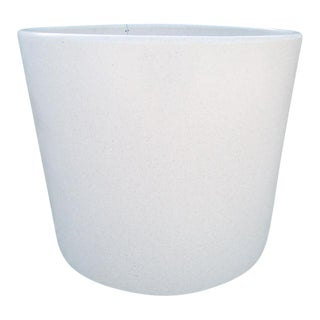 Gainey Ceramics Mid-Century White Ceramic Planter