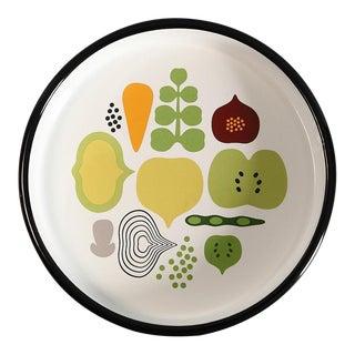Finnish Summer Vegetables Enamel Tray