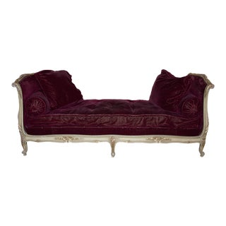 Antique French Louis XV Lit De Repose Daybed