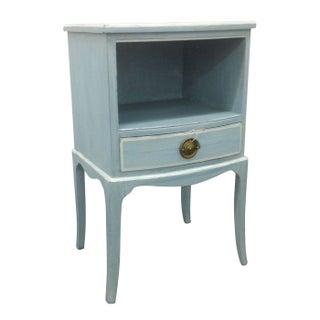 Blue Painted Vintage Side Table