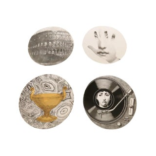 Fornasetti Decorative Plates - Set of 4