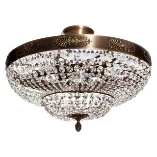 Ebony Finish Plafond Chandelier