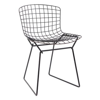 Knoll Bertoia Child Size Chair Black