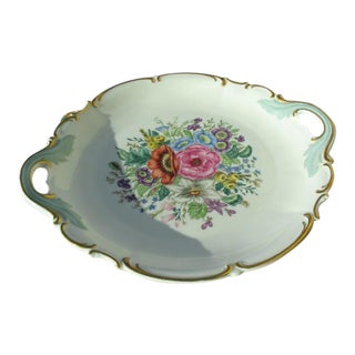 Hutschenreuther Floral Porcelain Serving Dish