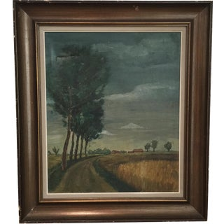 Country Road Painting by Rene Barbaix