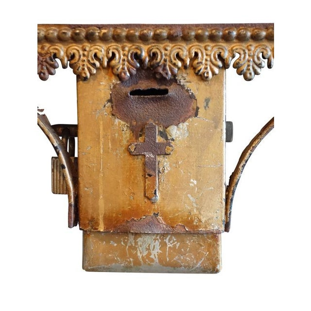 Wrought Iron Church Offerings Console - Image 6 of 7