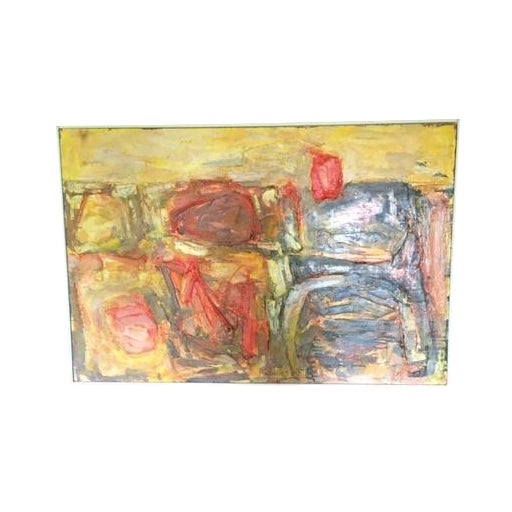 Walter Hook Mid-Century Abstract Painting - Image 1 of 7