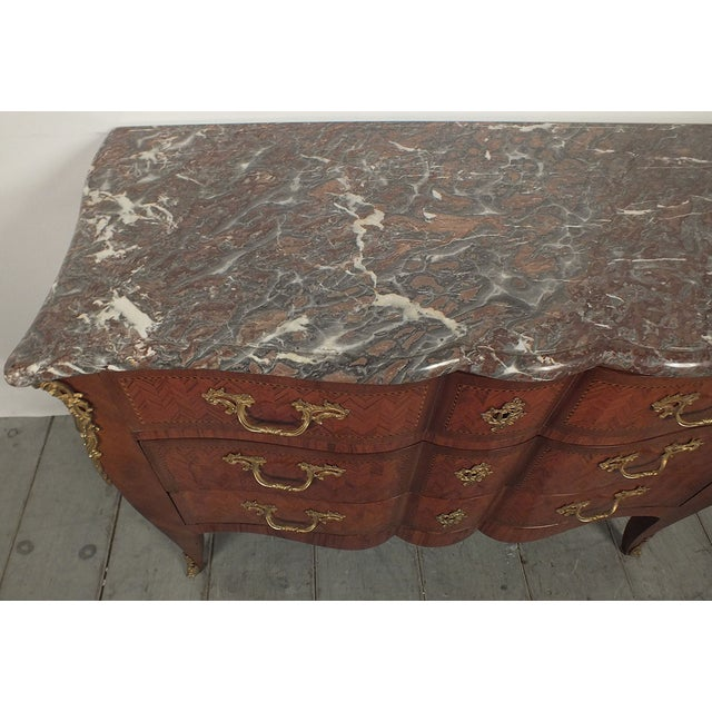 Antique 1900s French Louis XV-Style Commode - Image 4 of 11