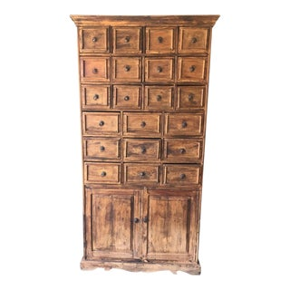 Reclaimed Fishing Boat Wood Indonesian Cabinet