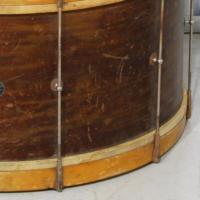 Image of Antique Leedy Reliance Bass Drum, 1930s