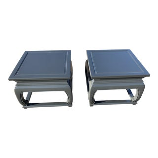 Baker Michael Taylor Far East Collection Side Tables - A Pair