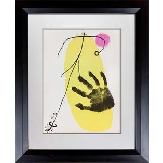 Joan Miro Original Lithograph 1956