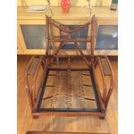 Image of Classic Ritts Rattan Chair & Ottoman