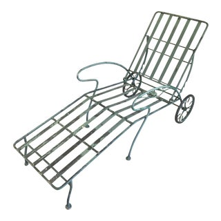 Iron Outdoor Chaise