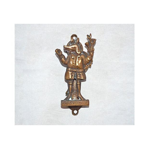 Trusty Servant Brass Door Knocker - Image 5 of 7