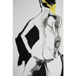 """Woman With Yellow Scarf"" by Adria Becker"