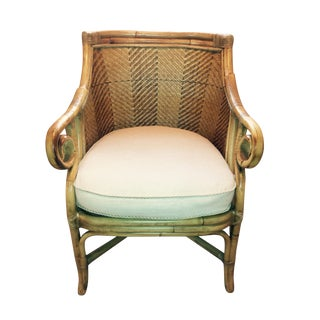 Henry Link Rattan & Wicker Arm Chair