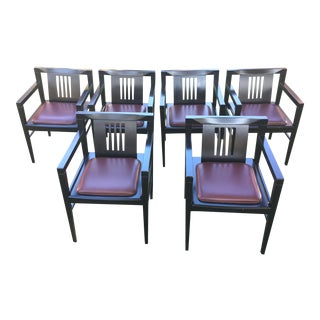 Stendig Italian Stiletto Armchairs - Set of 6