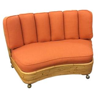 Paul Frankl Vintage Rattan Sofa