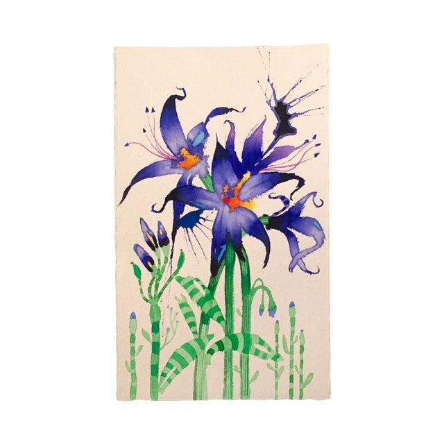 """Fairy Lilies"" Original Watercolor - Image 1 of 3"