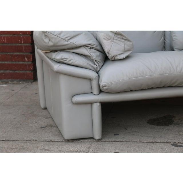 Nicoletti Italian Leather Sofa - Image 3 of 11