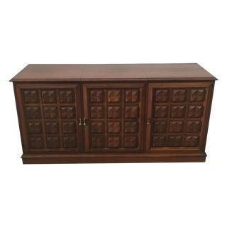 Mid Century Credenza Stereo Cabinet