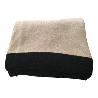 Thin Beige Cashmere Blanket