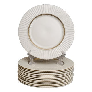 Lenox Greek Key Dinner Plates - Set of 12