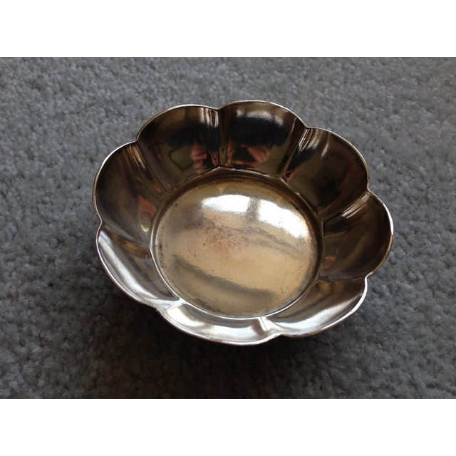 Vintage Reed & Barton 6551S Flower Silver Bowl - Image 2 of 7