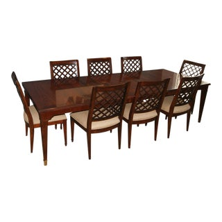 Bernhardt Mahogany Dining Set - Set of 9