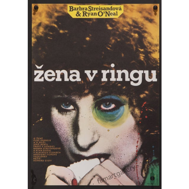 """""""The Main Event"""" Czech Film Poster - Image 2 of 2"""